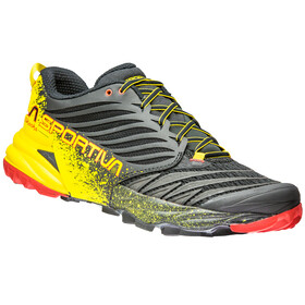 La Sportiva Akasha Running Shoes Men Black/Yellow